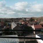 """Uitzicht balkon appartement  Alikuik """"De Uyterton"""""""
