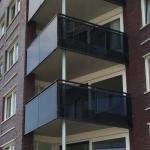 """Balkons appartementen  Alikruik""""De Uyterton"""""""